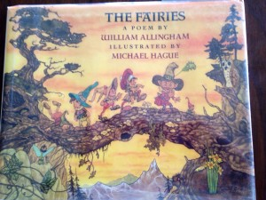 A traditional Victorian favorite poem with amazing contemporary illustrations, The Fairies