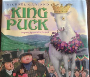 Who doesn't love a story-loving magical goat?  King Puck