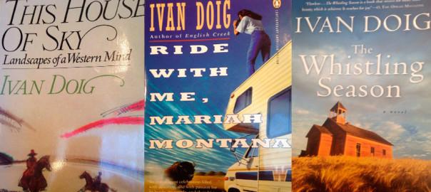 Ivan Doig book covers