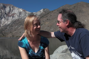 Kimberly and Patrick enjoying Convict Lake