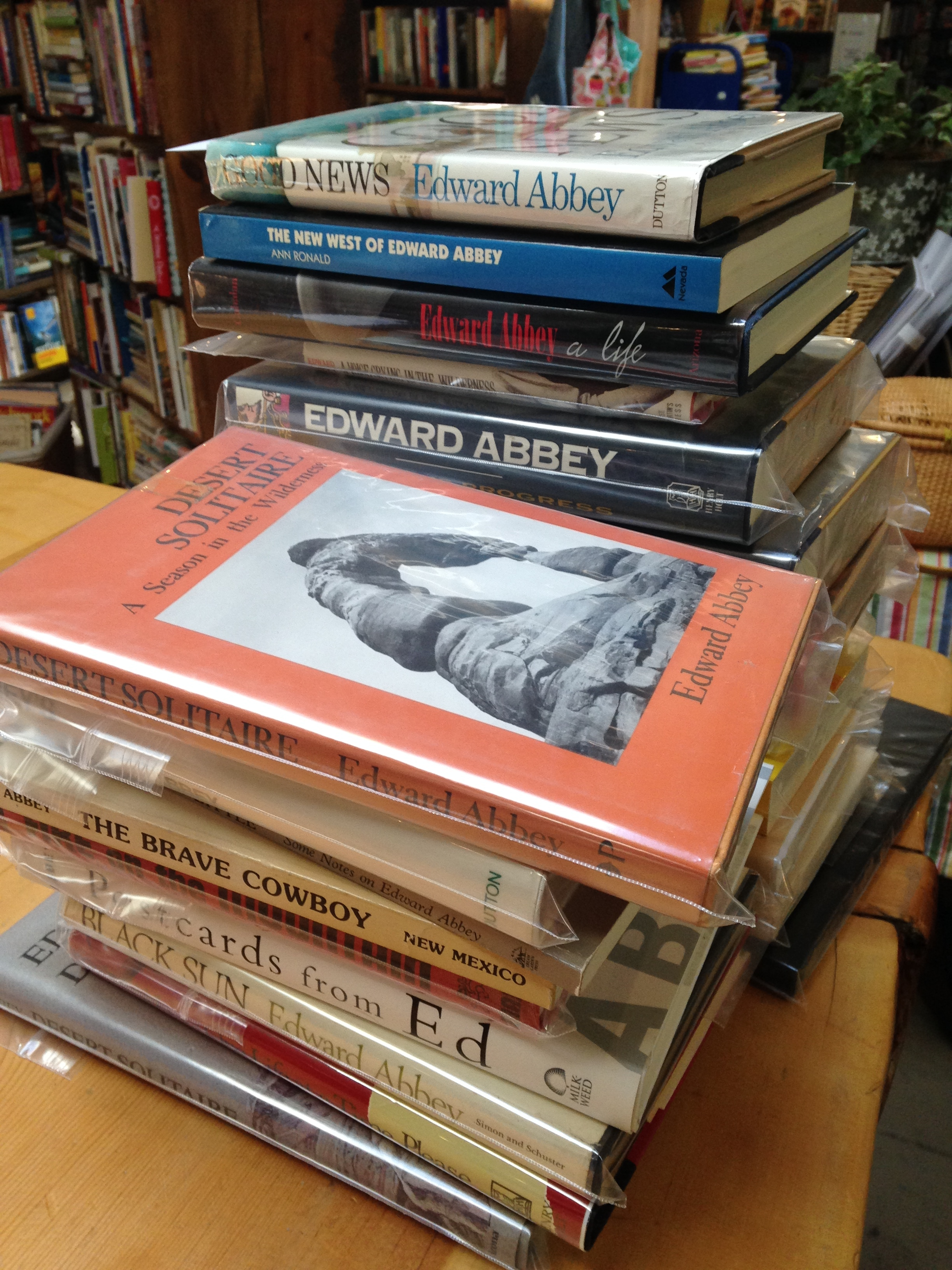 edward abbey essays Get access to edward abbey s desert solitaire as a essays only from anti essays anti essays offers essay examples to help students with their essay writing.
