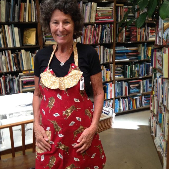 Cute new aprons are in made by and modeled byhellip