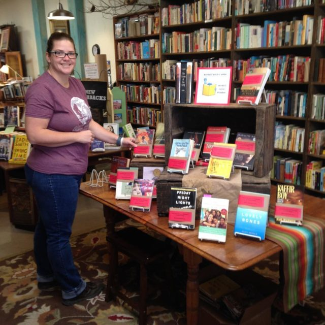 The Banned Book Display is up! Plus Courtney has markedhellip