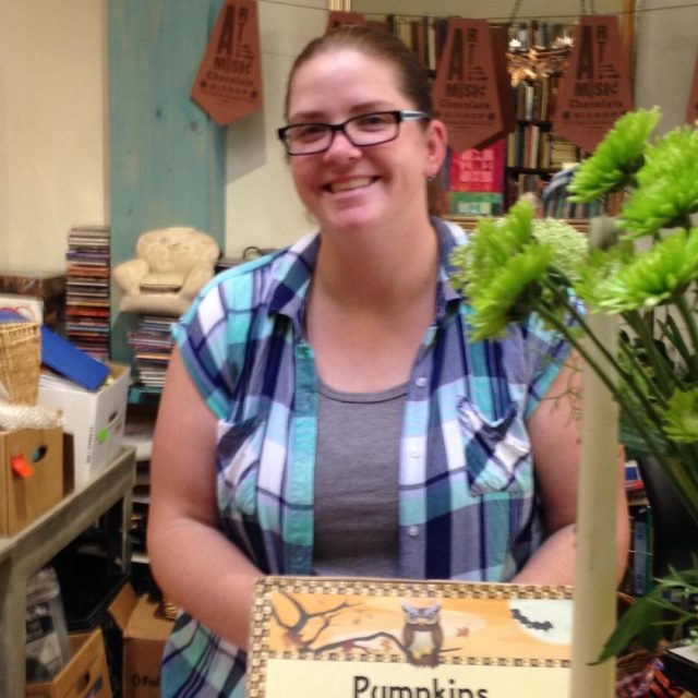 Happy birthday this week to our bookseller Courtney! rangeandriverbooks